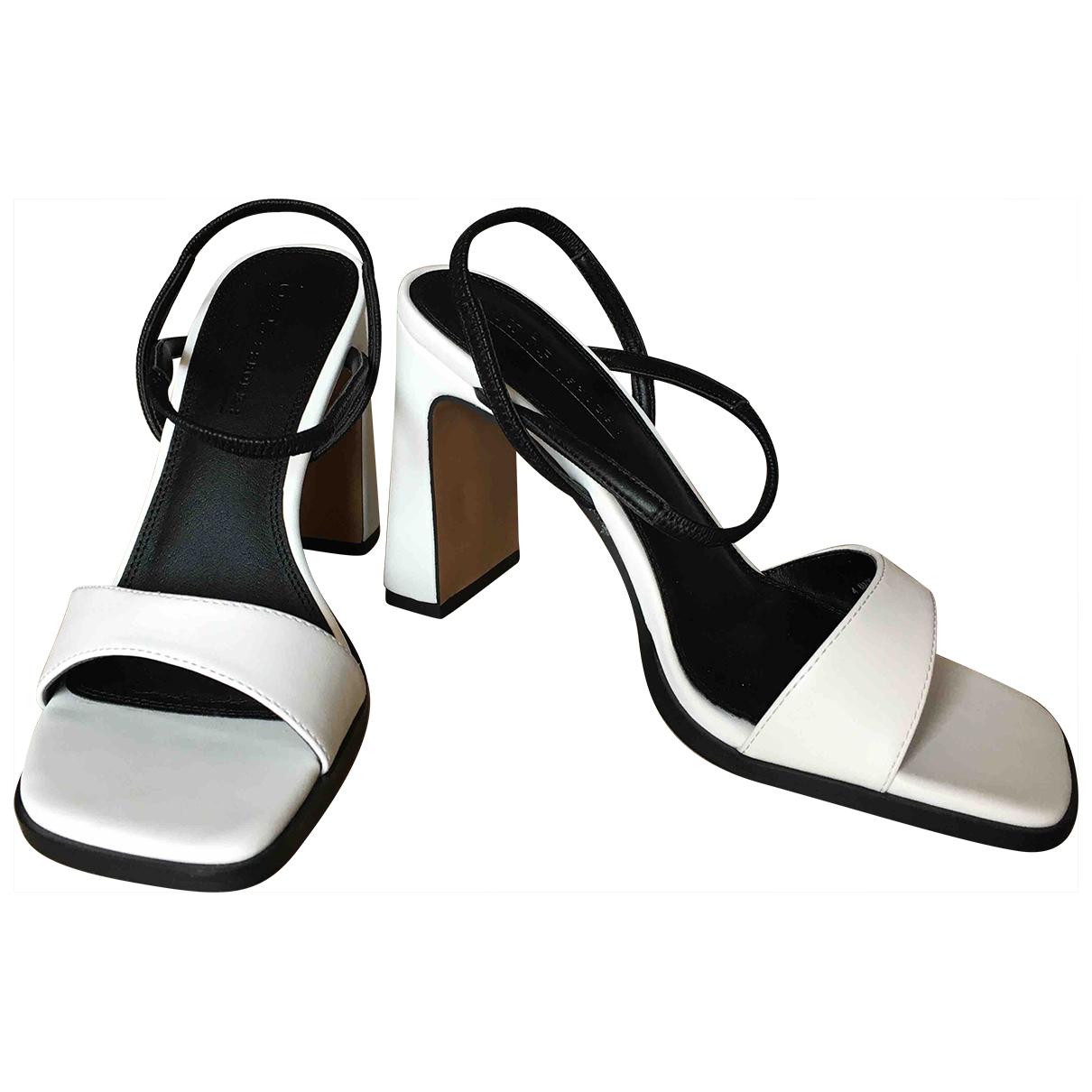 Asos - Sandales   pour femme en cuir
