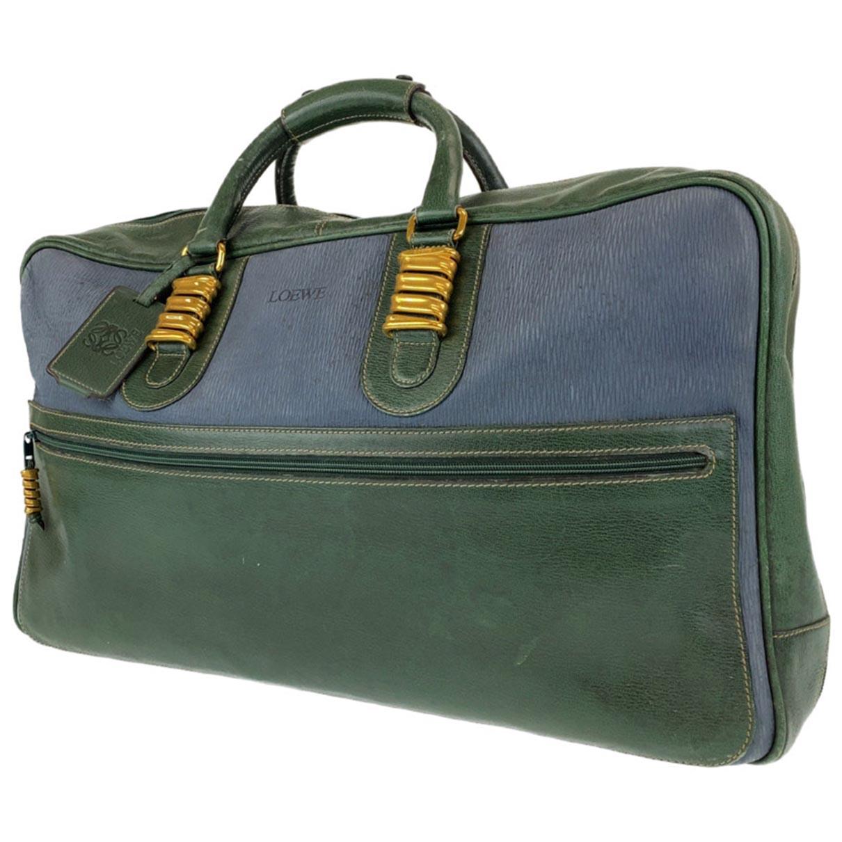 Loewe \N Leather bag for Men \N