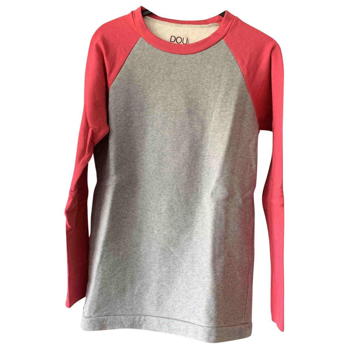 Douuod \N Grey Cotton Knitwear for Women 34 FR