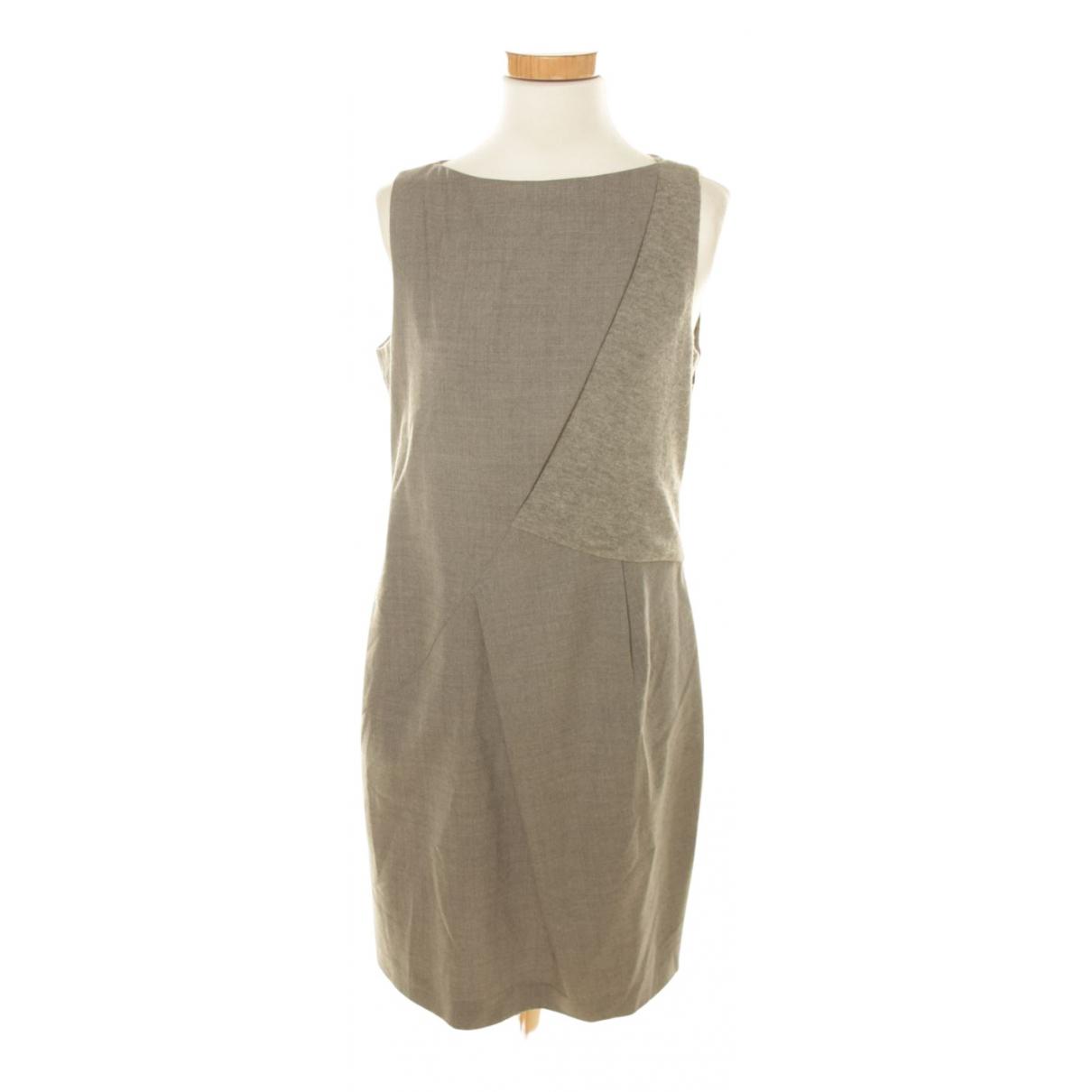Hugo Boss - Robe   pour femme en laine - gris