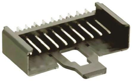 Lumberg , Minimodul, 3 Way, 1 Row, Right Angle PCB Header (10)