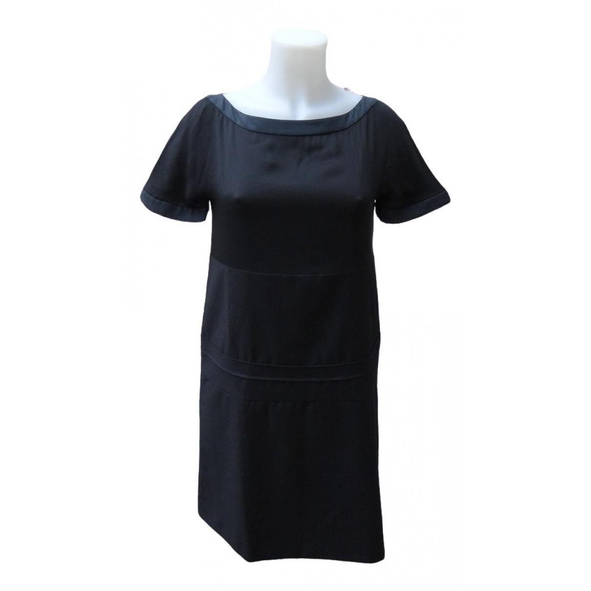 Chloé \N Black Silk dress for Women 34 FR