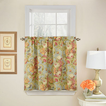 Waverly Spring Bling Rod-Pocket Window Tiers, One Size , No Color Family