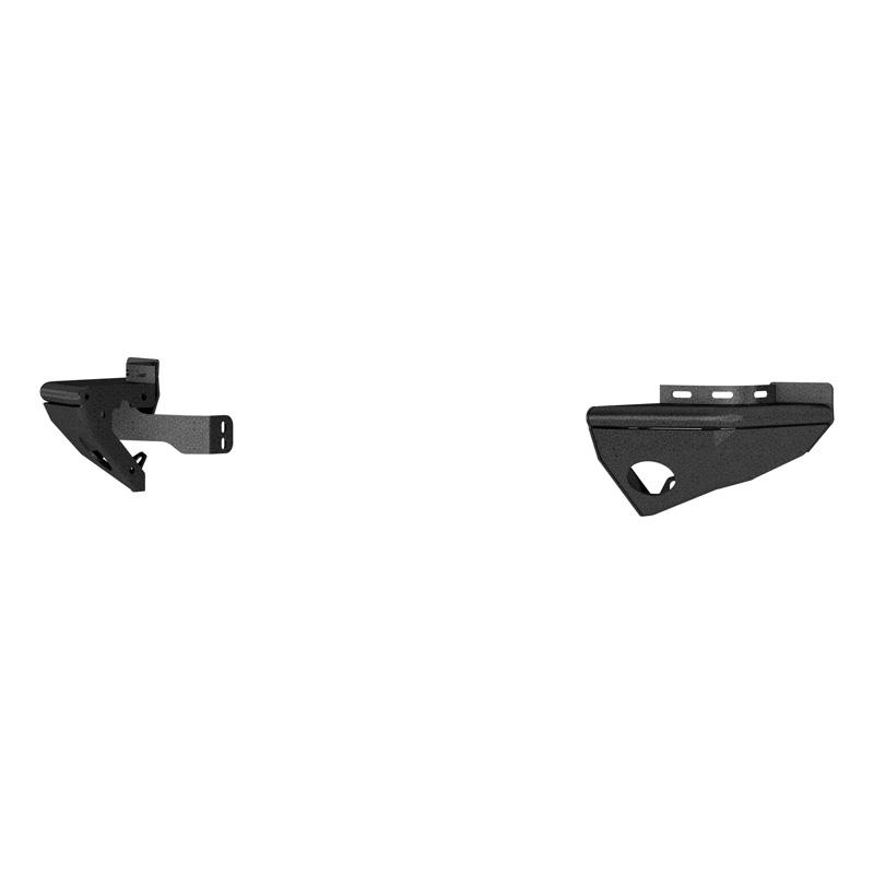 Aries 2081220 Steel Textured Black Powder Coat TrailChaser Jeep Wrangler JK Rear Bumper Corners