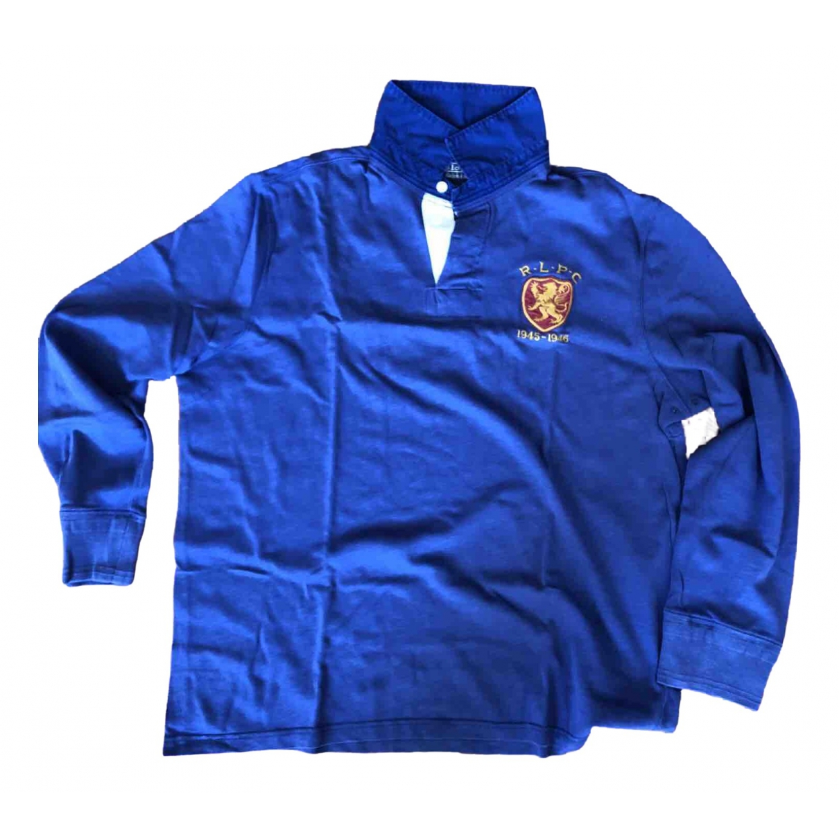 Polo Ralph Lauren Polo Rugby manches longues Poloshirts in  Blau Baumwolle
