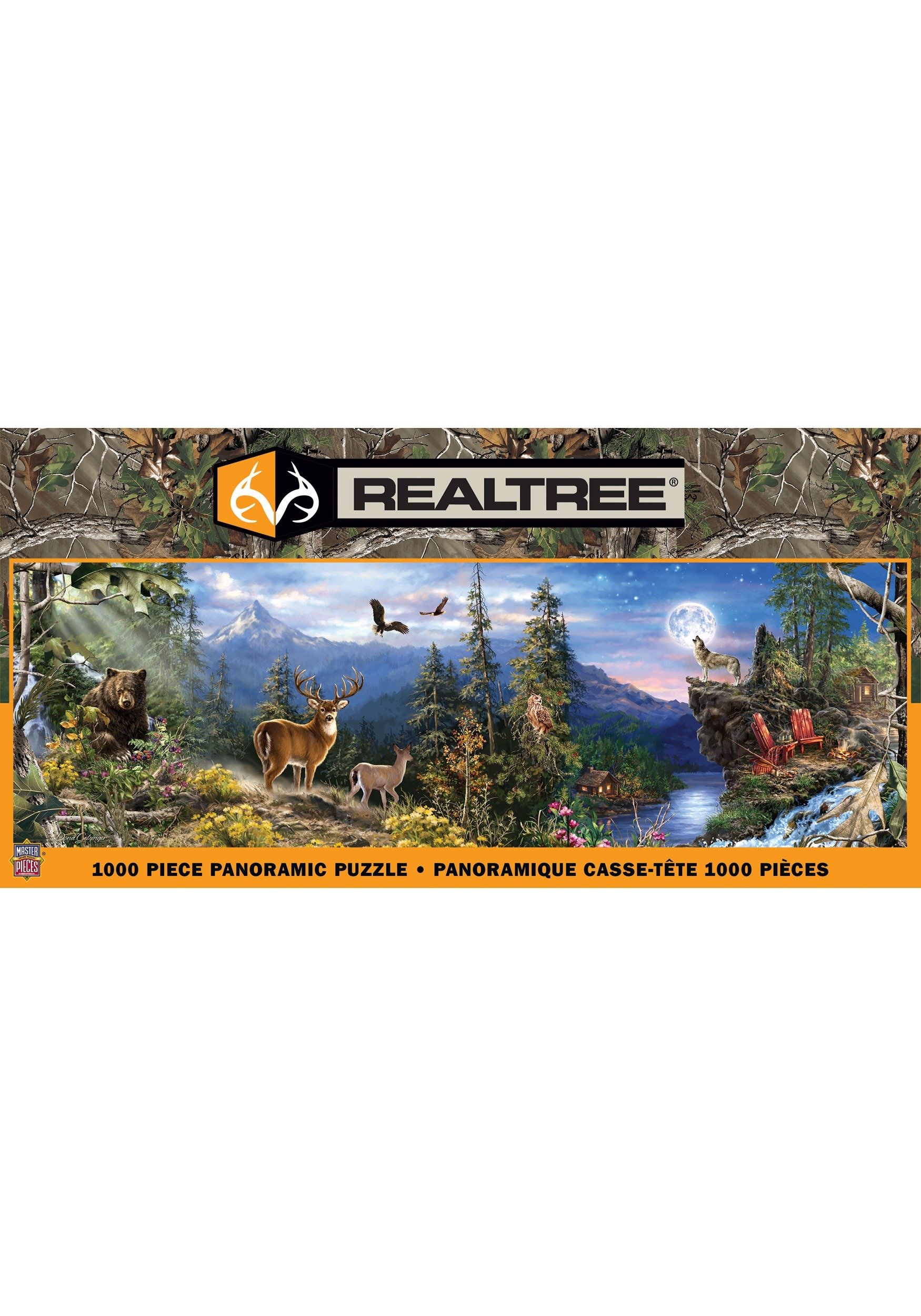 Realtree Panoramic 1000 Piece MasterPieces Puzzle