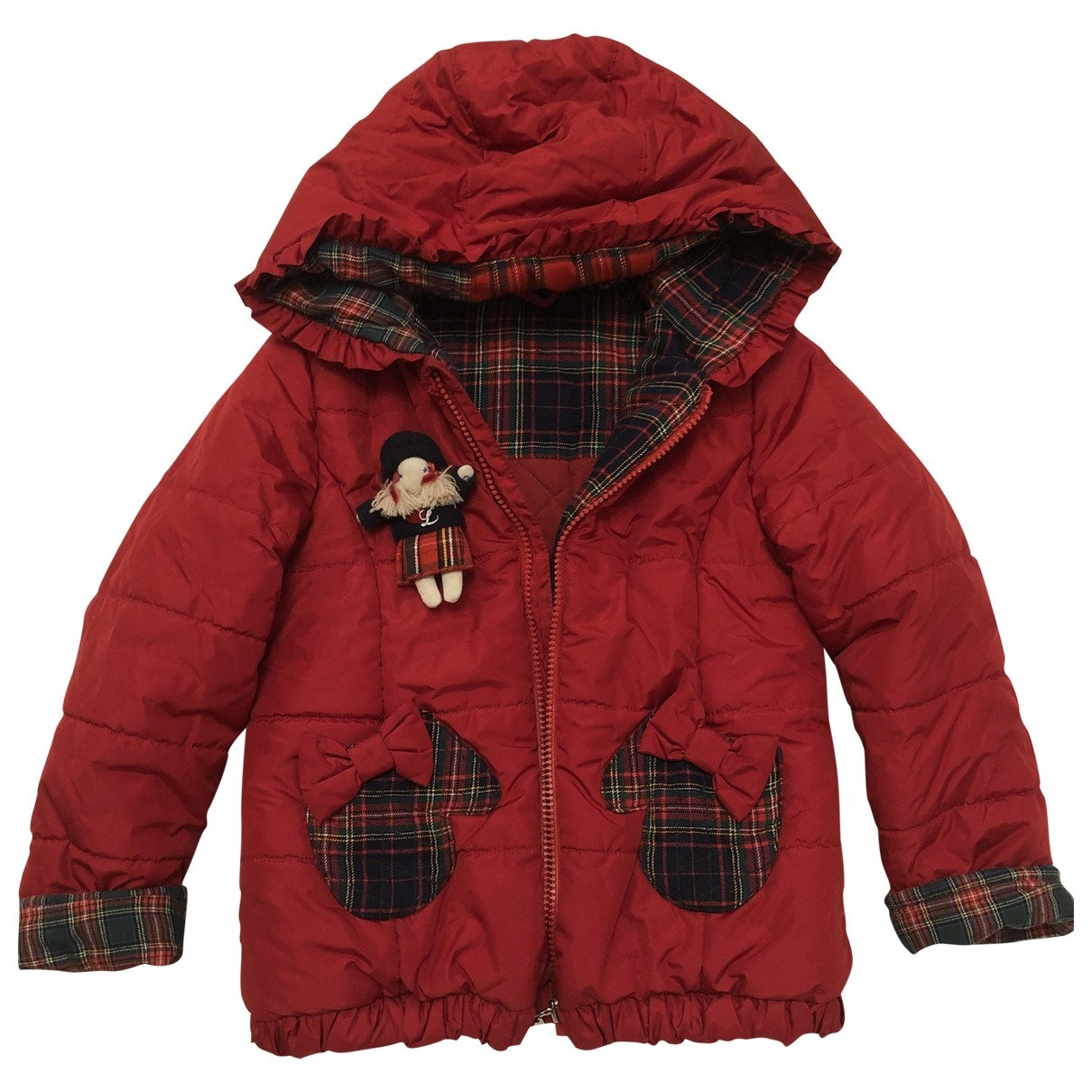 Lapin House \N Red Cotton jacket & coat for Kids 4 years - until 40 inches UK
