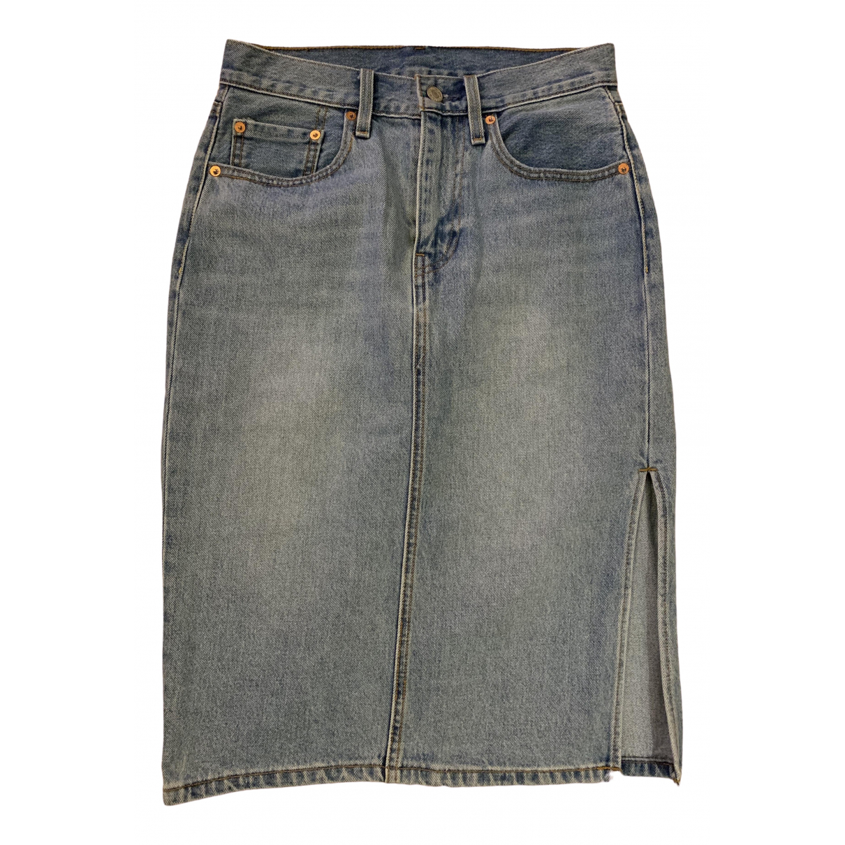 Levis \N Rocke in  Blau Denim - Jeans
