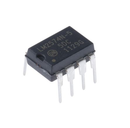 ON Semiconductor , LM2574N-5G Step-Down Switching Regulator, 1-Channel 500mA 8-Pin, PDIP
