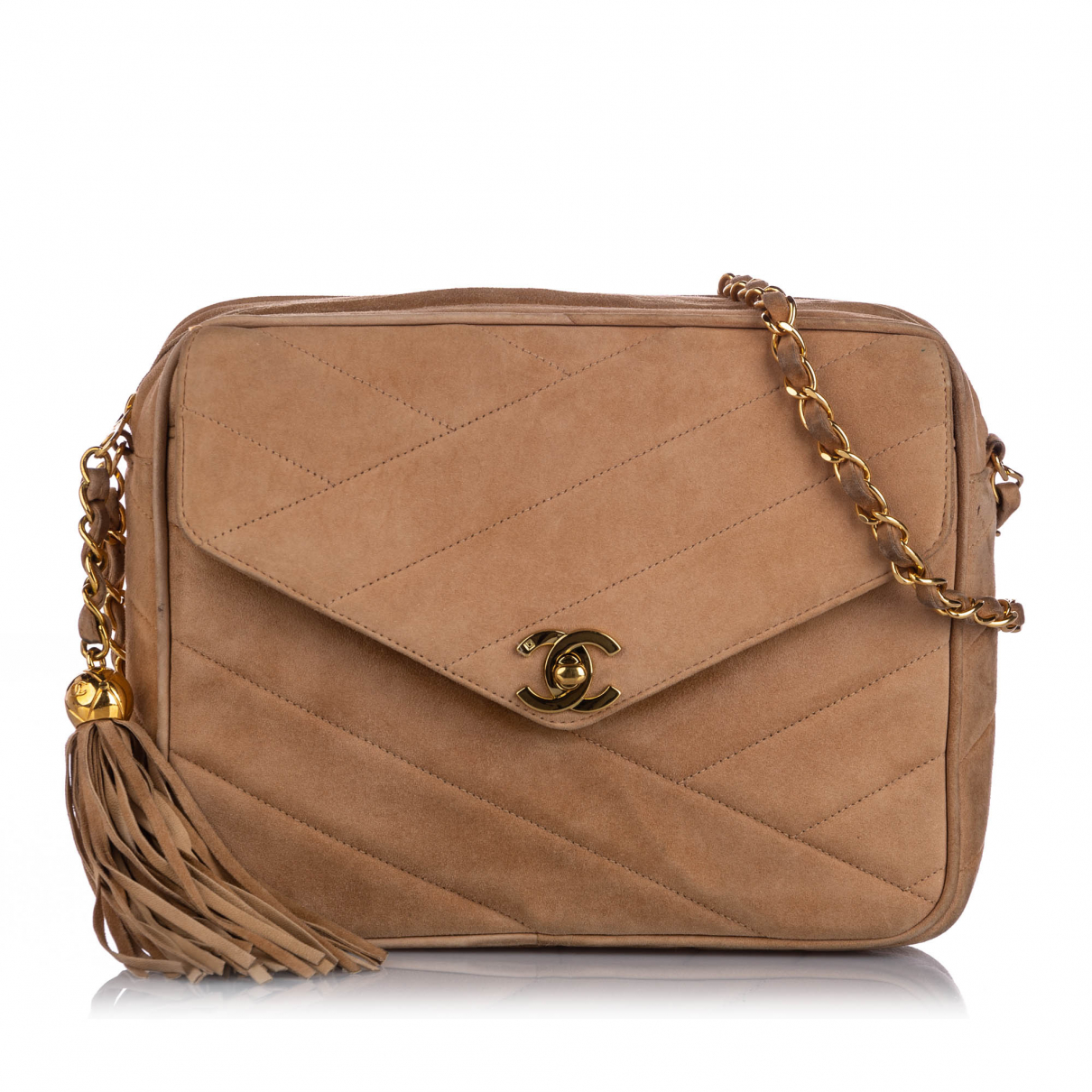 Chanel \N Brown Leather handbag for Women \N