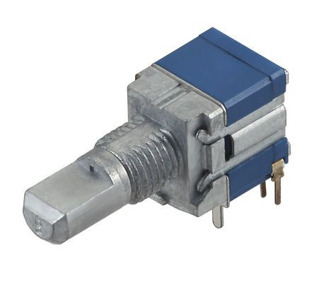 Alps Alpine , 20 (Pulses) Position SP20T (Pulses) Rotary Switch, 100 mA, PC Pin