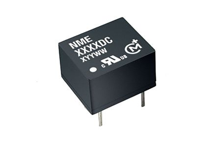 Murata Power Solutions NME 1W Isolated DC-DC Converter Through Hole, Voltage in 10.8 → 13.2 V dc, Voltage out 5V