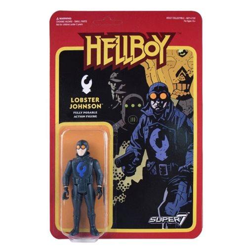 Hellboy Lobster Johnson 3 3/4-Inch ReAction Figure