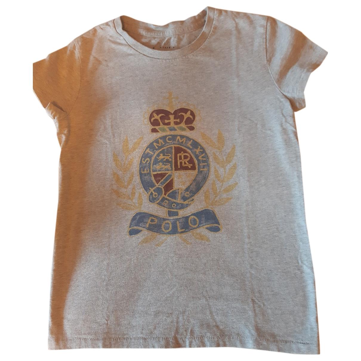 Polo Ralph Lauren \N Grey Cotton  top for Women 10 UK