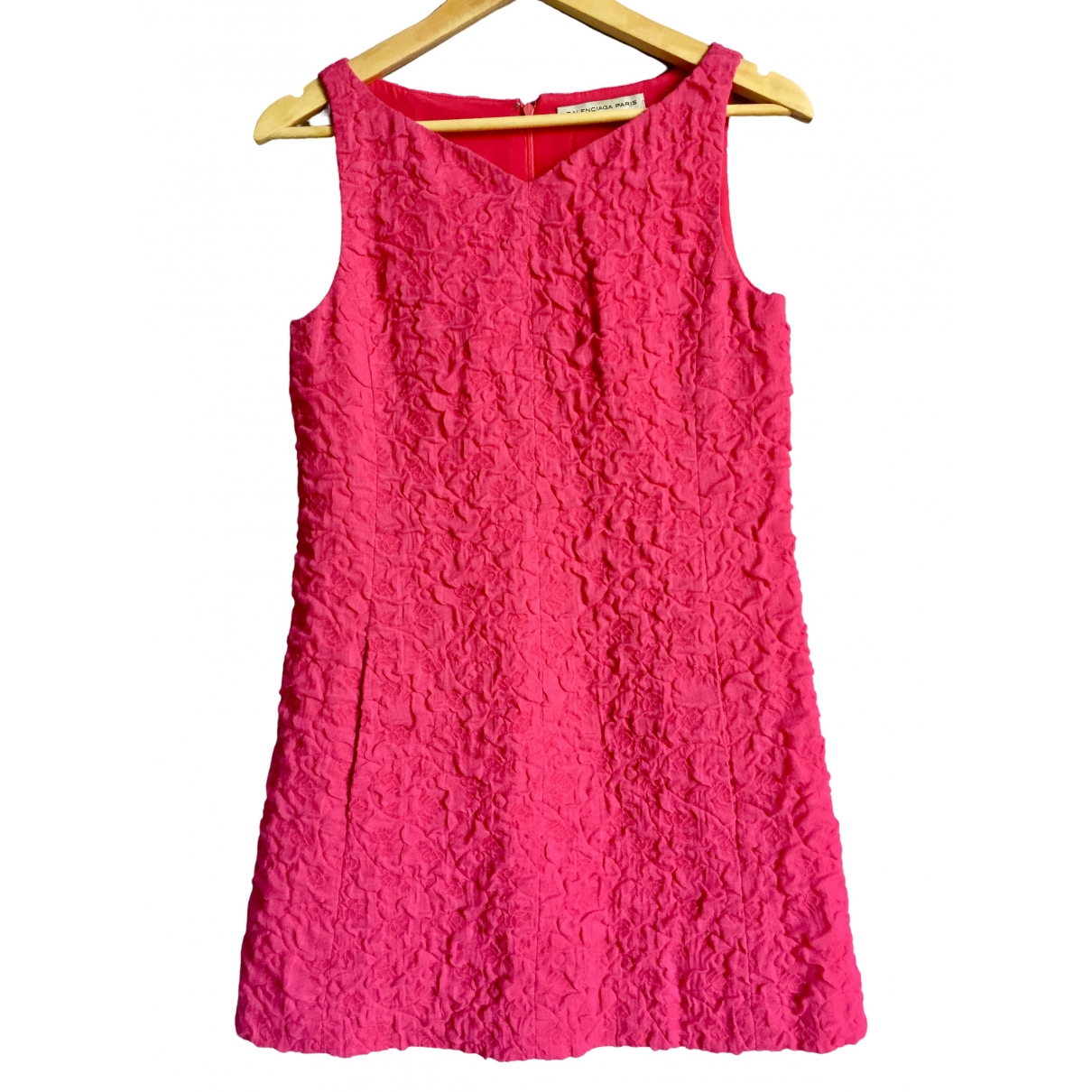 Balenciaga \N Pink Cotton dress for Women 36 IT
