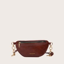 Letter Graphic Fanny Pack