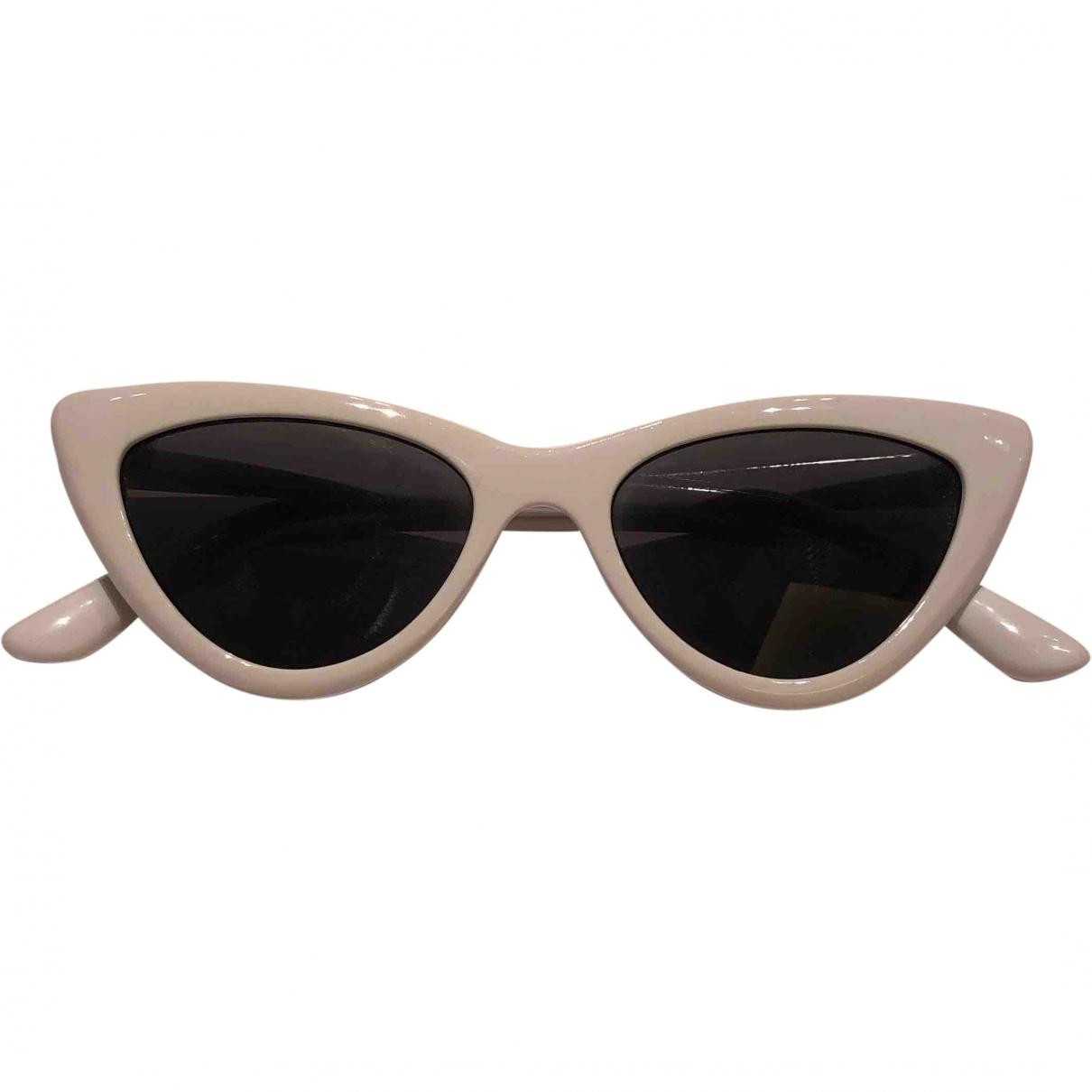 Mango \N Sonnenbrillen in  Weiss Kunststoff