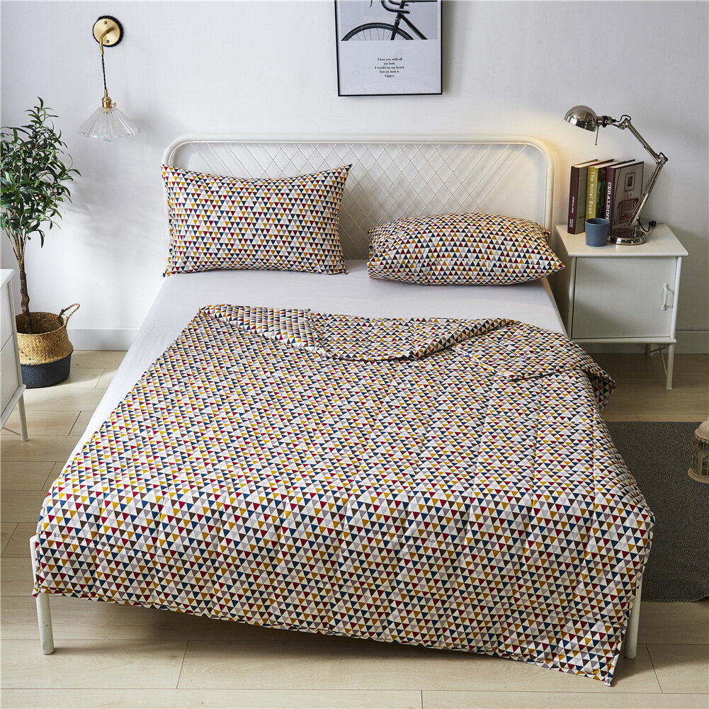 Cooling Weighted Blankets Premium Natural Cotton Bedding Adult Kids Removable Cover Weighted Blankets for Kids with Pill
