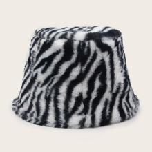 Fluffy Warm Bucket Hat