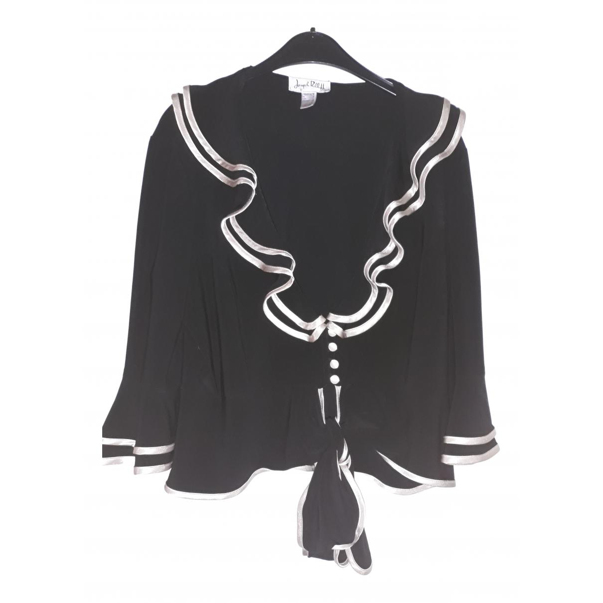 Joseph Ribkoff - Veste   pour femme en coton - noir
