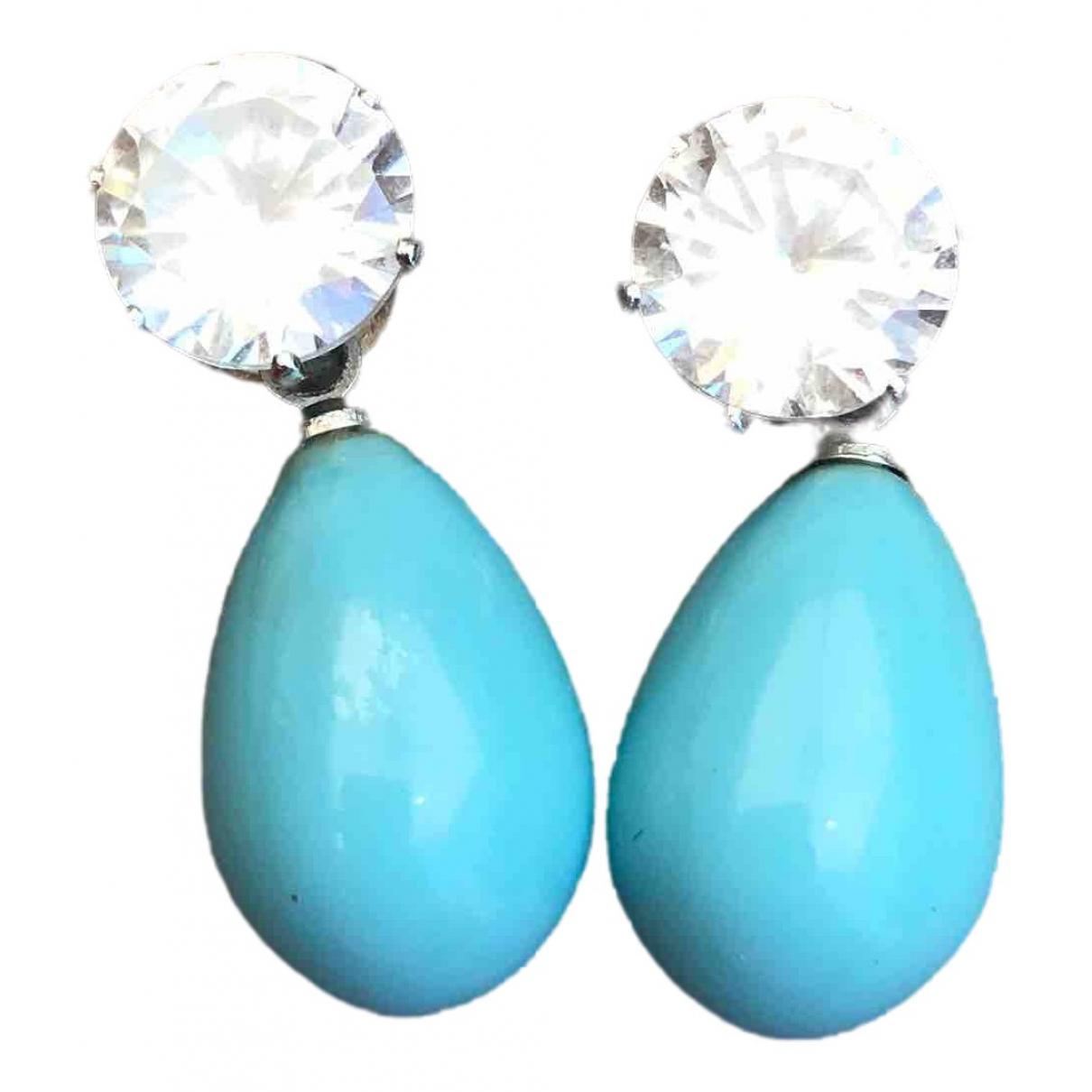 - Boucles doreilles   pour femme en perles - multicolore