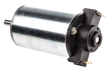 Crouzet Brushed DC Motor, 22 W, 24 V dc, 70 mNm, 3070 rpm, 6mm Shaft Diameter