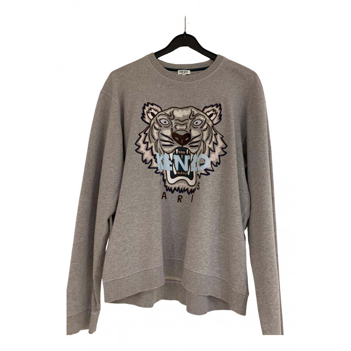 Kenzo N Grey Cotton Knitwear & Sweatshirts for Men XL International