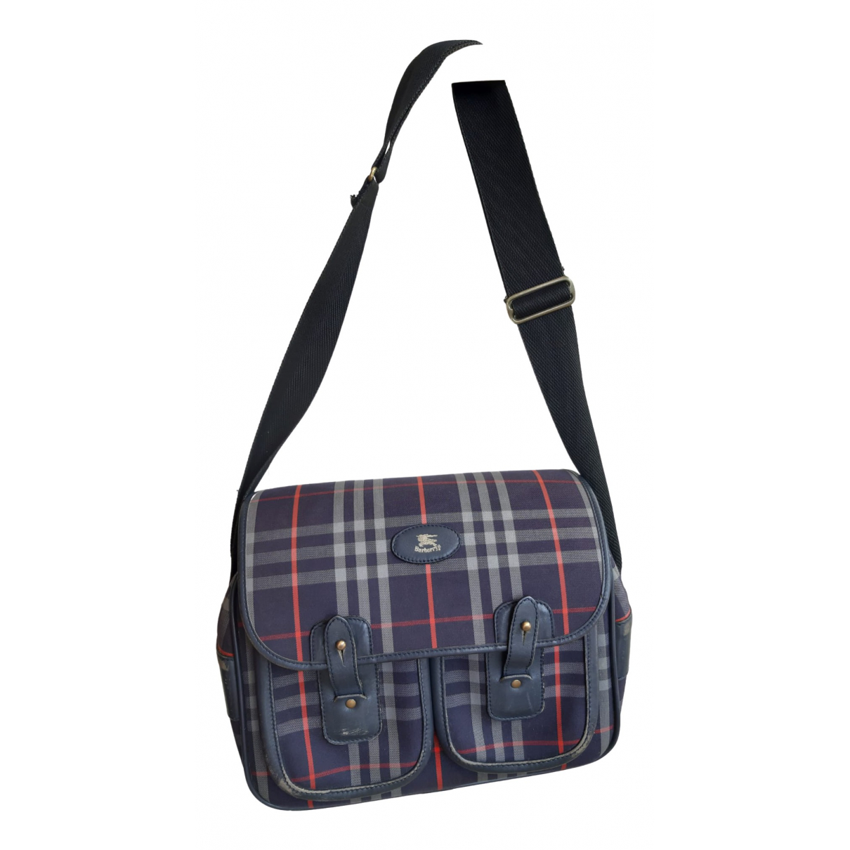 Burberry \N Blue Cloth handbag for Women \N