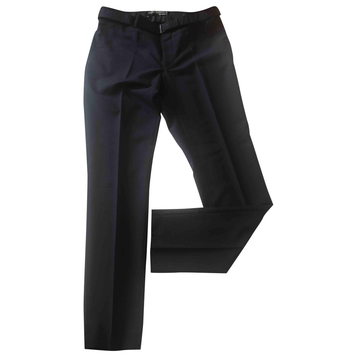 The Kooples \N Blue Wool Trousers for Men M International