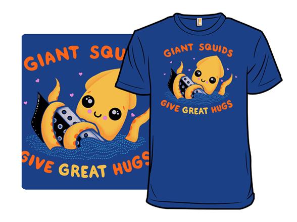 Squid Hugs T Shirt