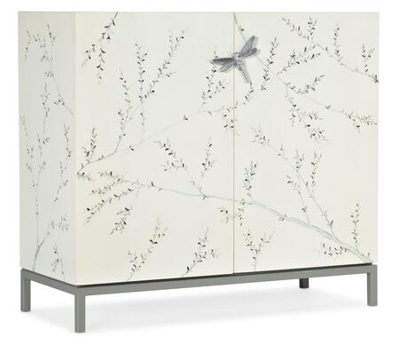 638-50546-02 Melange Bale Bar Cabinet  in Whites and Creams and