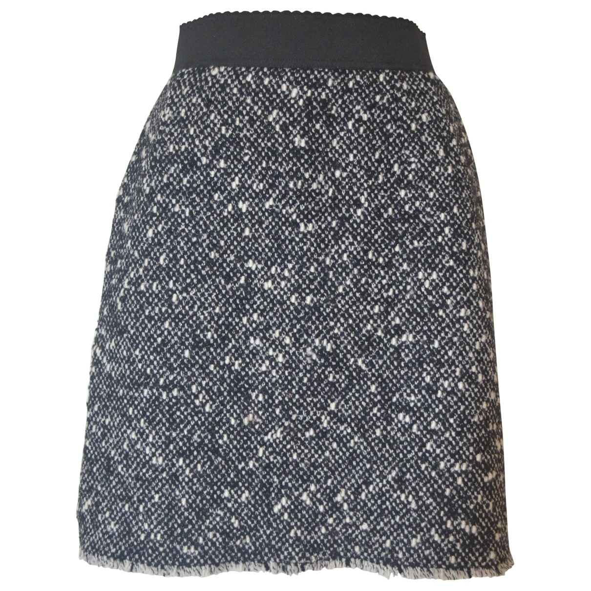 Dolce & Gabbana - Jupe   pour femme en laine - noir