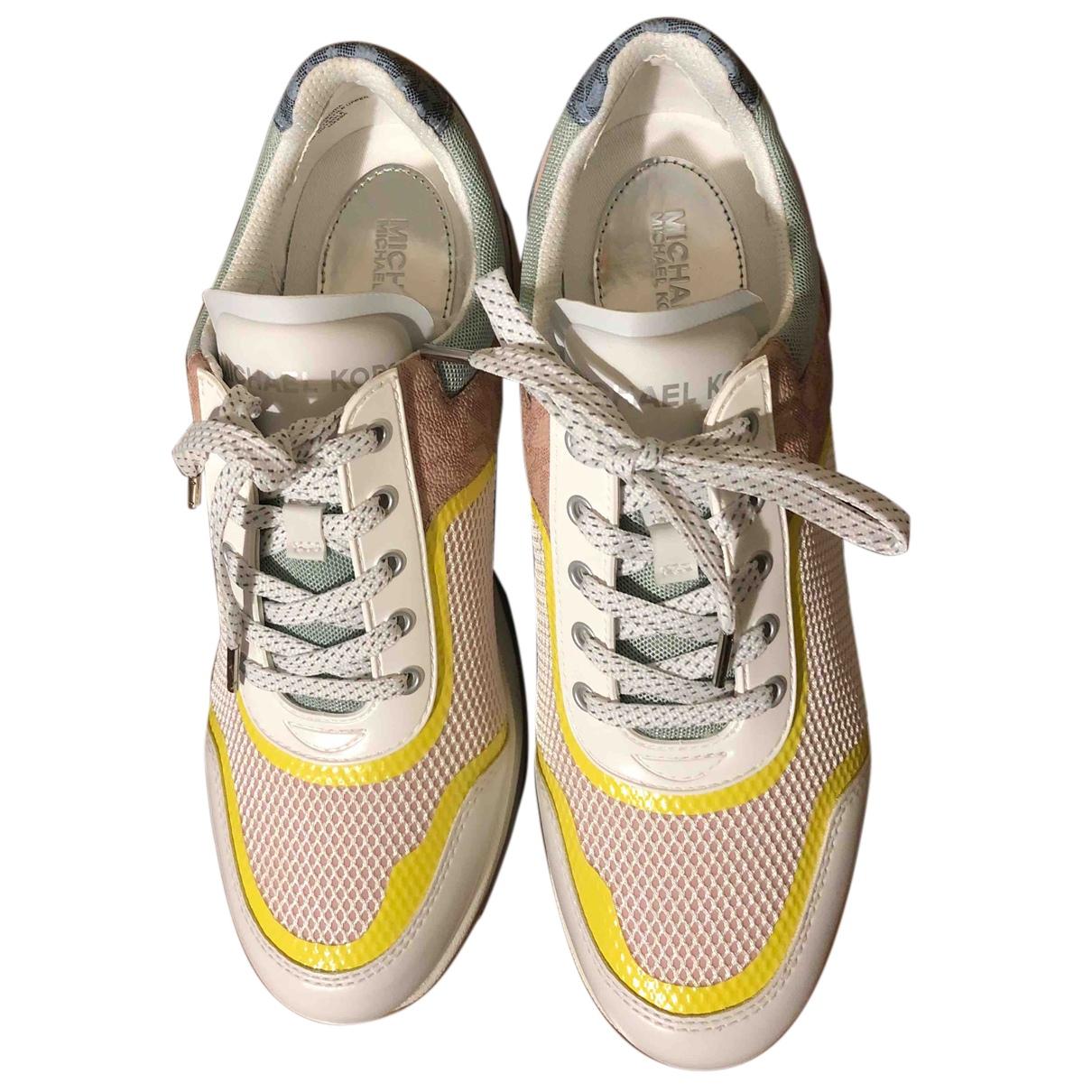Michael Kors \N Sneakers in  Bunt Leinen