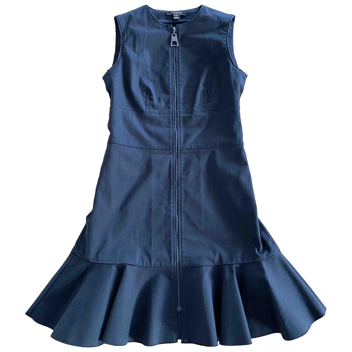 Louis Vuitton - Robe   pour femme en coton - noir