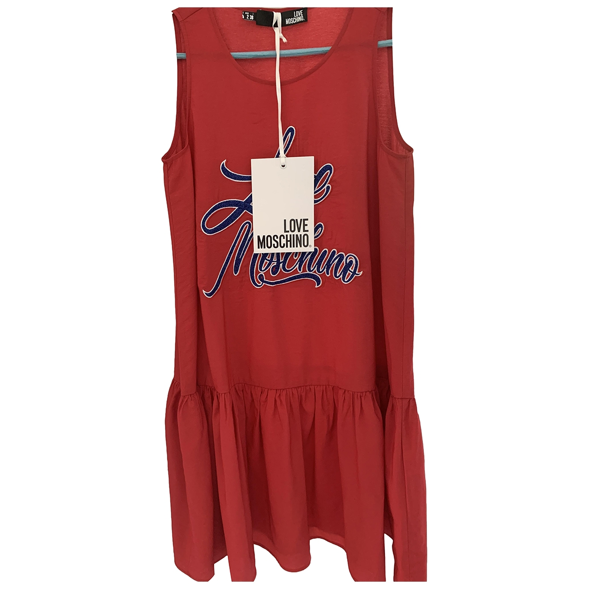 Moschino Love - Robe   pour femme - rouge