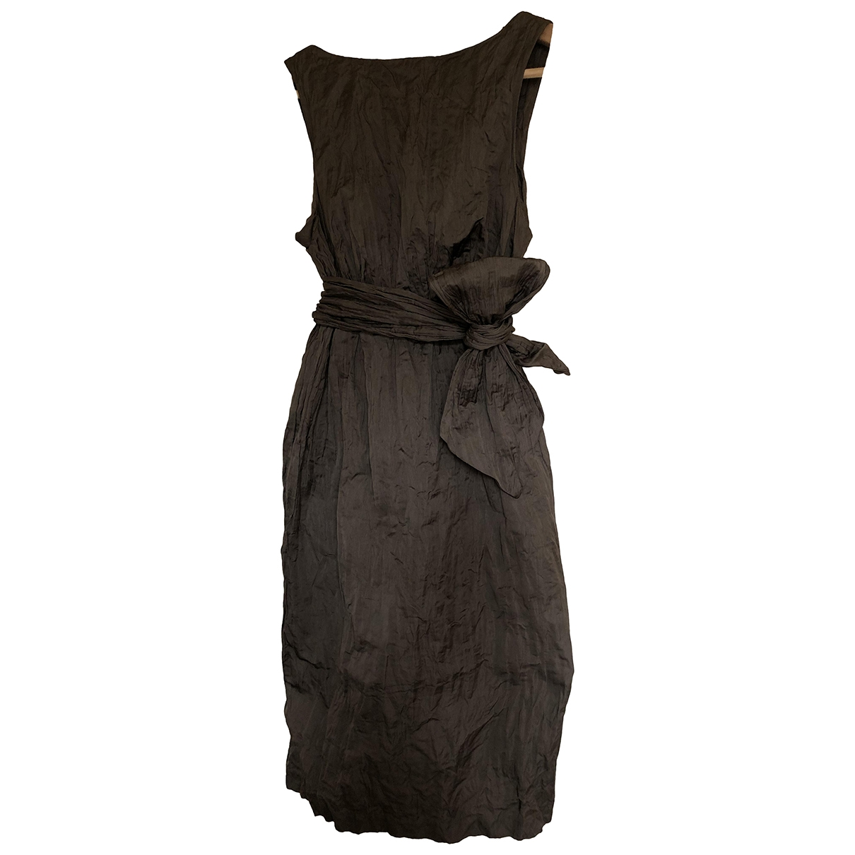 Hoss Intropia \N Brown dress for Women 36 IT