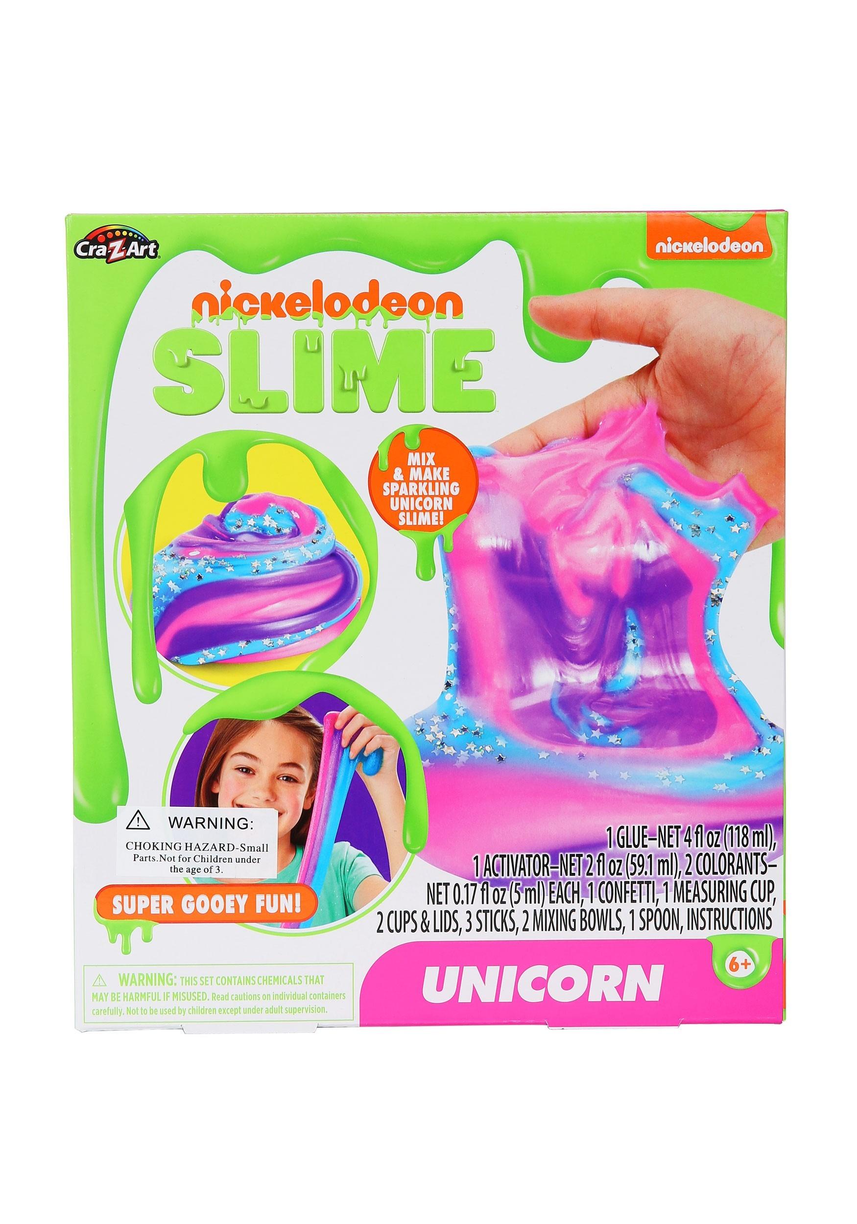 Gooey Nickelodeon Unicorn Slime