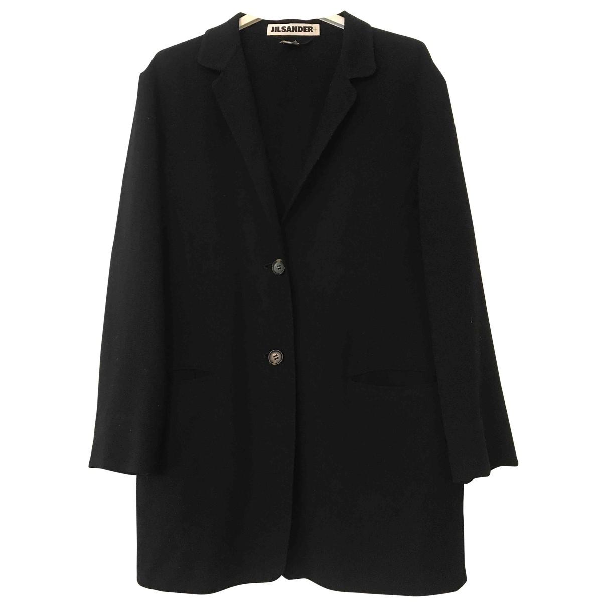 Jil Sander \N Black Wool jacket for Women 38 FR