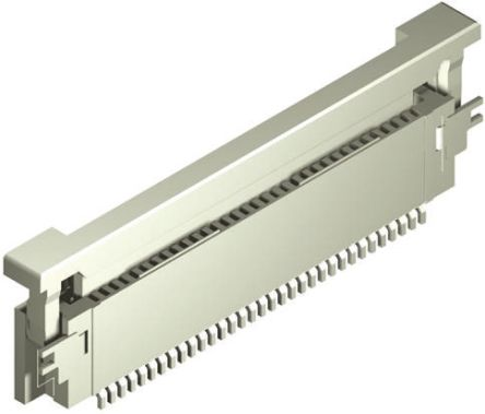 Molex Easy-On 54104 Series 0.5mm Pitch 33 Way Right Angle FPC Connector, ZIF Top Contact (10)