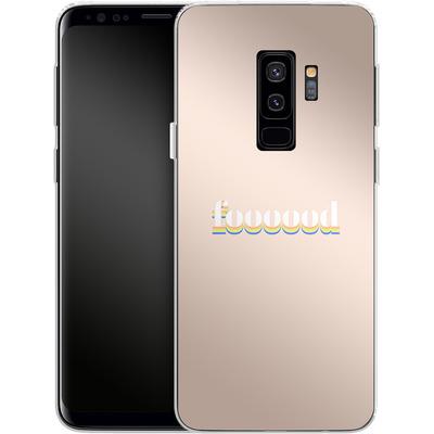 Samsung Galaxy S9 Plus Silikon Handyhuelle - foooood von #basic