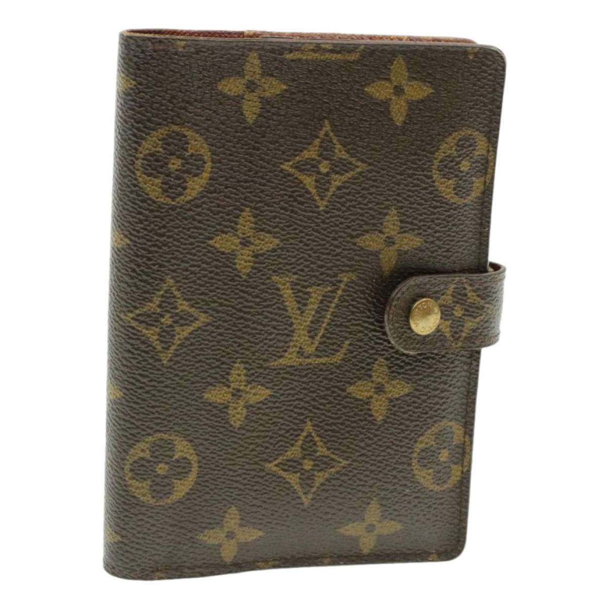 Louis Vuitton \N Accessoires und Dekoration in  Braun Leinen