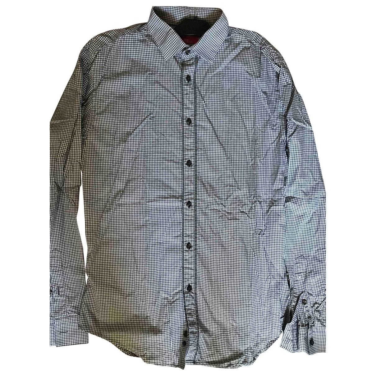 Zara - Chemises   pour homme en coton - bleu