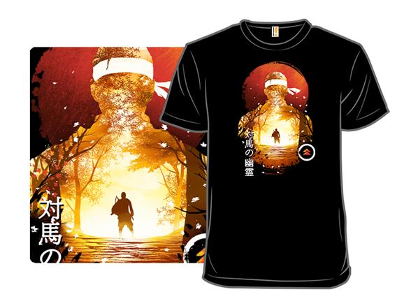 Samurai Sunset T Shirt