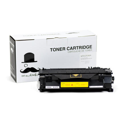 Compatible HP Laserjet Pro M401N Black Toner Cartridge - Moustache