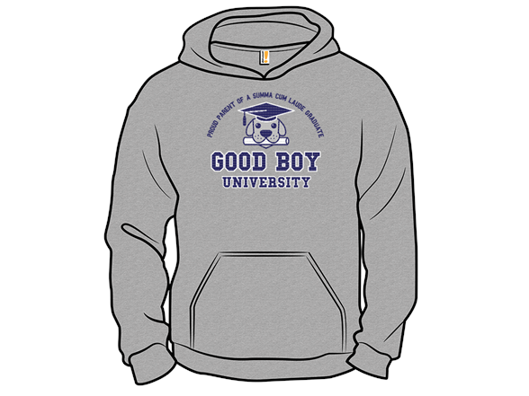 Good Boy University T Shirt