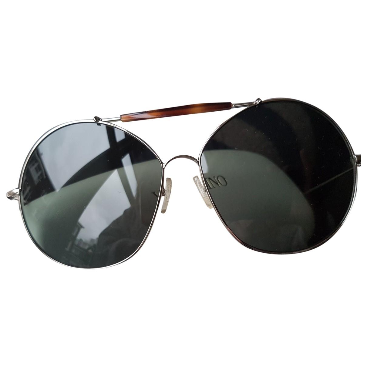 Valentino Garavani \N Sonnenbrillen in  Silber Metall