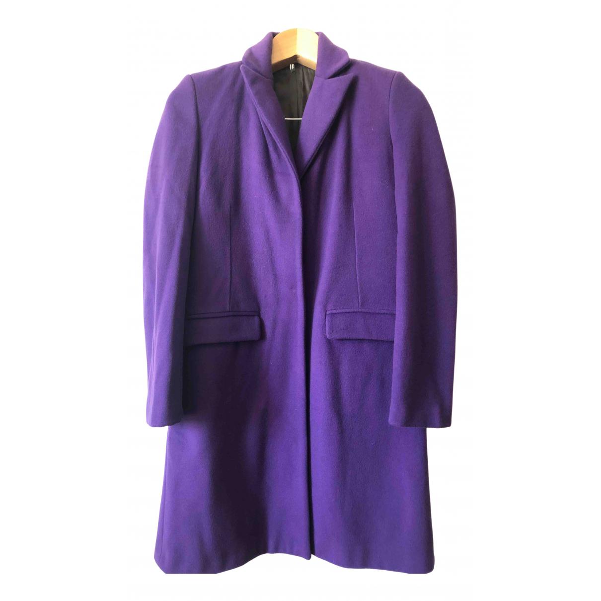 Liviana Conti - Manteau   pour femme en laine - violet