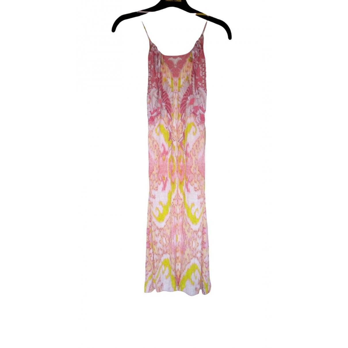 Roberto Cavalli \N Kleid in  Bunt Baumwolle - Elasthan