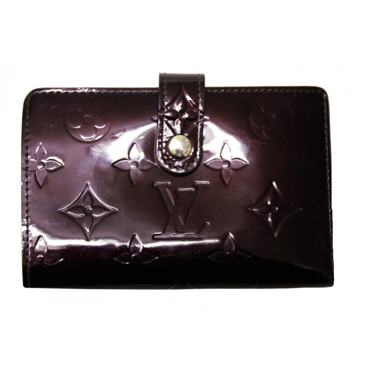 Louis Vuitton - Portefeuille   pour femme en cuir verni
