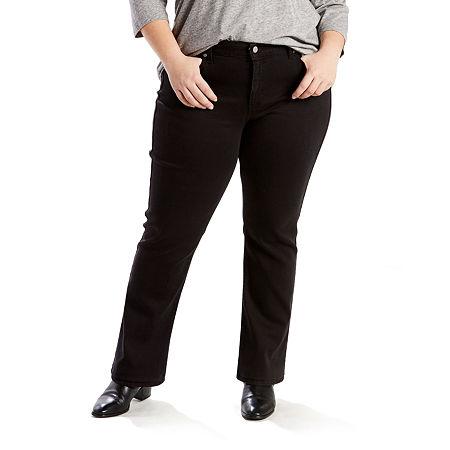Levi's Classic Straight - Plus, 18w Short , Black